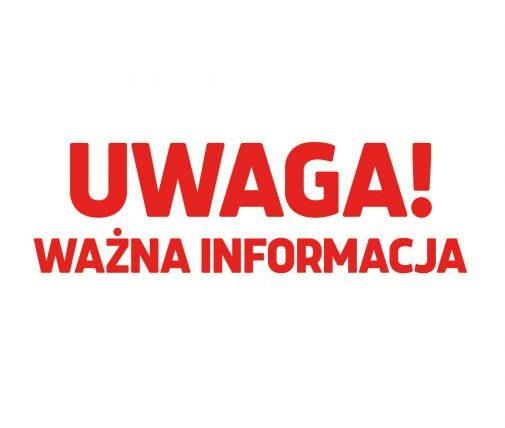 UWAGA!!! Siłownie, baseny i kluby fitness od 02.04.2021 rok dostępne tylko dla kadry narodowej. Segregacji ciąg dalszy.